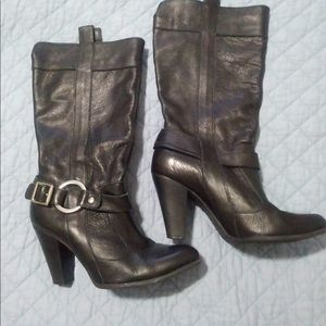 Gianni Bini mid calf black boots